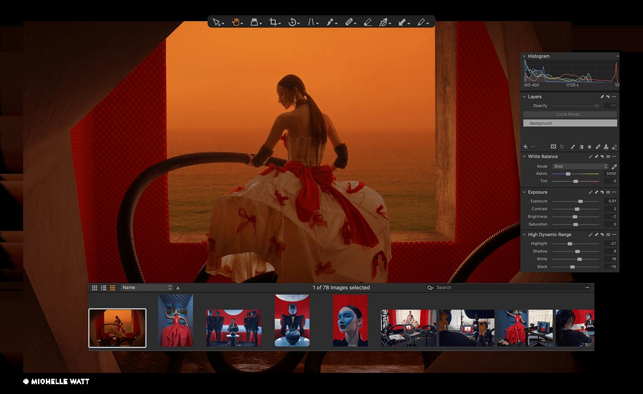 Capture One Raw Photo Editor Nikon Feature Organization Tools 01