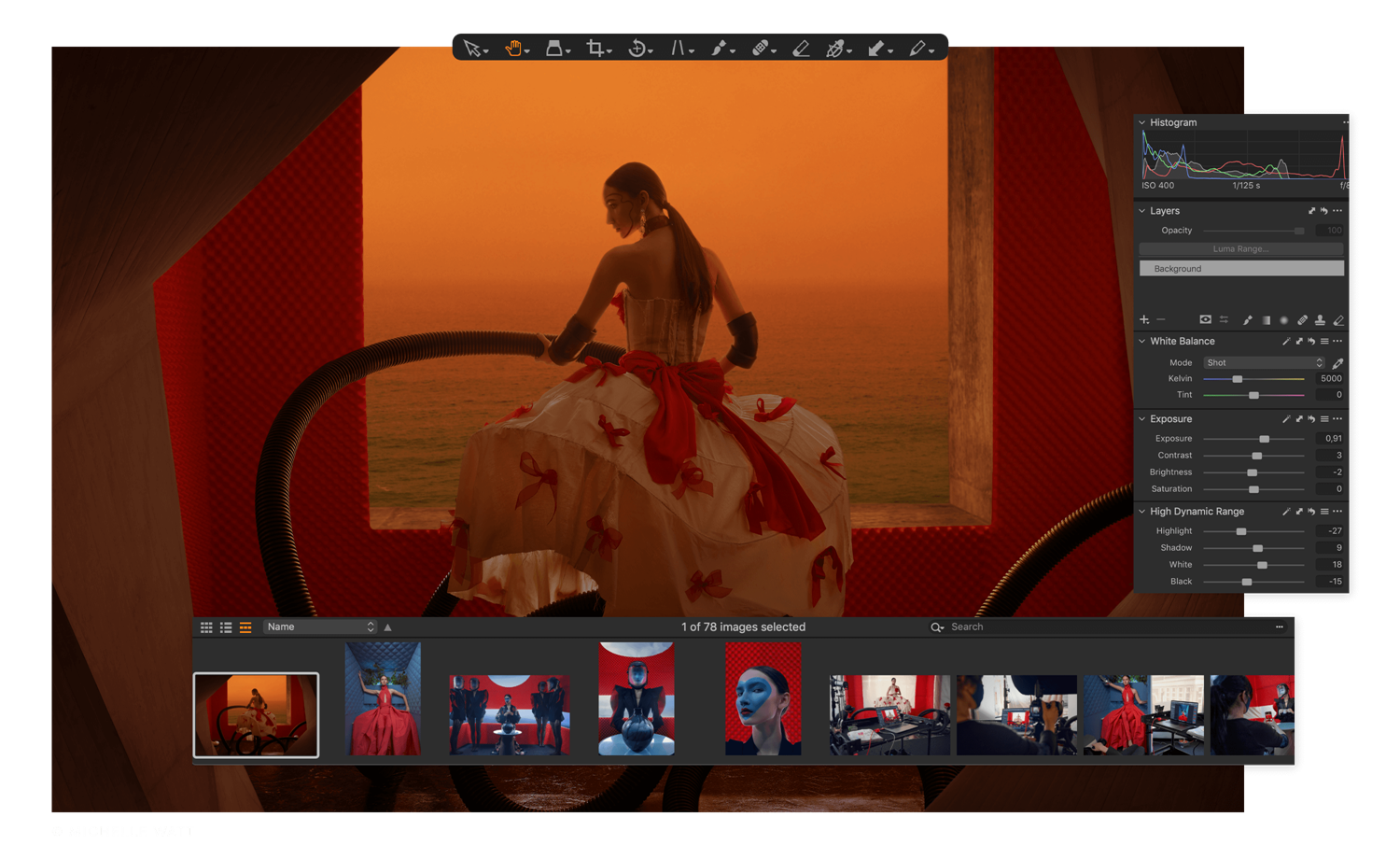 Capture One Raw Photo Editor brand Feature feel at home