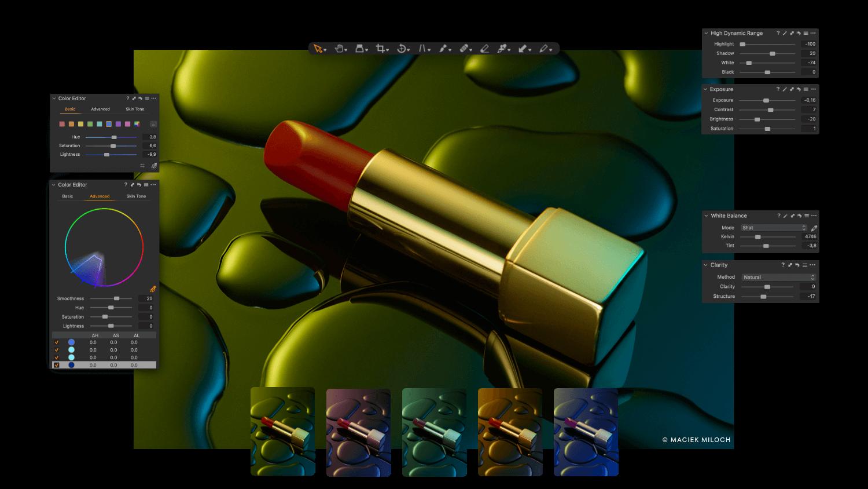 Customizable Interface – 1@2X
